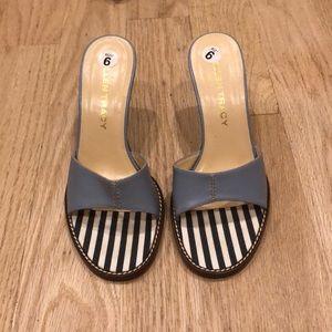 Ellen Tracy Dainty Blue Sandals